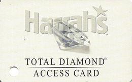 Harrah's Casino - St. Louis, MO - Total Diamond Access Card - Parking Card  ...[RSC]... - Casino Cards