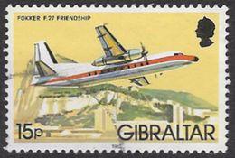 Gibraltar SG467 1982 Aircraft 15p Good/fine Used [35/29646/2D] - Gibraltar