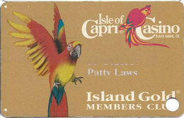 Isle Of Capri Casino - Black Hawk, CO - 1st Issue Slot Card - Casino Cards