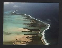 POSTCARD AERIAL VIEW COCOS ISLANDS KEELING AUSTRALIA Z1 - Unclassified