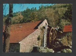 SERRA DA ESTRELA 1960 Years MANTEIGAS WATER MILL MILLS POSTCARD PORTUGAL MOULINS - Postcards