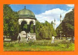 POSTCARD TURKEY ISTANBUL SULTAN AHMET MEYDANINDA 1960years - Postcards