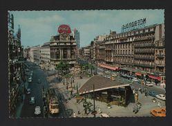 BRUXELLES BRUSSEL BRUSSELS 1960s BELGIUM BELGIQUE Tramcar Cars Trams BELGIE Z1 - Postcards