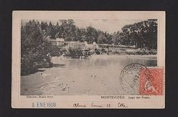 POSTCARD TCV Year 1900 MONTEVIDEO  URUGUAY Posted 1908  Z1 - Postcards