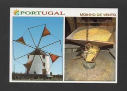 POSTCARD WINDMILL WINDMILLS PORTUGAL MOULINS MOLINOS MOULIN - Postcards