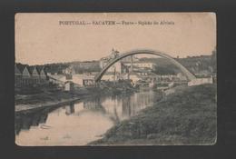 Postcard Stamp Ceres Year1917 PORTUGAL SACAVEM & RIO TRANCÃO SACAVÉM - Postcards