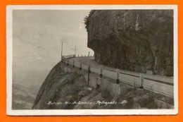 POSTCARD BRASIL ROAD RIO DE JANEIRO TO PETROPOLIS 1938 BRAZIL - Postcards