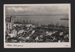 1950 Years REAL PHOTO POSTCARD  LISBON LISBOA PORTUGAL RIVER TEJO & Boats Boat - Postcards