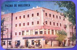 HOTEL PENSION RESIDENCIA HOSTAL ENSANCHE PALMA DE MALLORCA SPAIN LUGGAGE LABEL ETIQUETTE AUFKLEBER DECAL STICKER Madrid - Hotel Labels