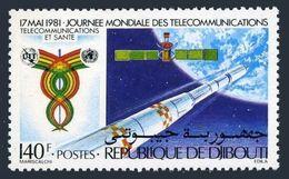 Djibouti 524,MNH.Michel 299. World Telecommunications Day,1981. - Telecom