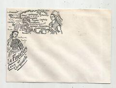 Enveloppe Illustrée Vierge , BRETAGNE , Le FINISTERE , LEON Et CORNOUAILLE , Ed : Artaud - Autres Collections