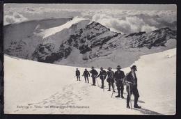 Aufstieg Zum Tödi Im Hintergrund Bifertenstock - Cartes Postales