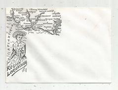 Enveloppe Illustrée Vierge ,  BRETAGNE ,  Région LORIENTAISE , Ed : Artaud - Autres Collections