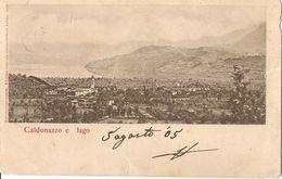 3-CALDONAZZO E LAGO - Trento