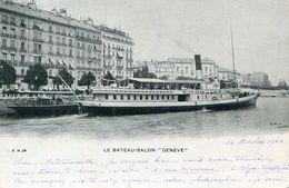 BATEAU(LAC LEMAN) GENEVE - Ferries