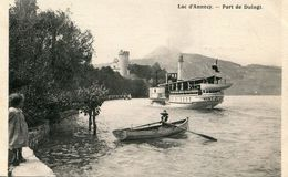 BATEAU(LAC LEMAN) DUINGT - Transbordadores