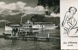 BATEAU(LAC LEMAN) SAINT JORIOZ - Ferries
