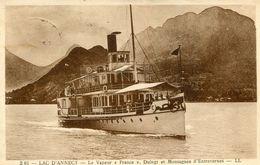 BATEAU(LAC LEMAN) DUINGT - Ferries