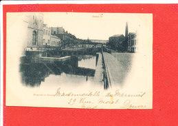 59 DOUAI Cpa Pont Sur La Scarpe - Douai