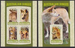 Solomon Islands 2016 Dog Chien MNH 1SS+1sheet Imperforate - Solomon Islands (1978-...)