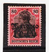 ÖMV1672 DEUTSCHE AUSLANDSPOSTÄMTER MAROKKO 1906 MICHL 42 UNGEBRAUCHT Mit FALZ Siehe ABBILDUNG - Deutsche Post In Marokko