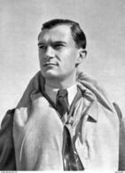 WW2 - Le Cdt René Mouchotte Commandant Le Groupe Ile-de-France Des FAFL En1943 - 1939-45