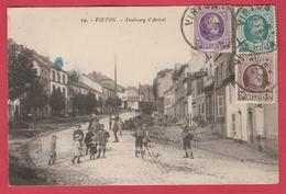 Virton - Faubourg D'Arival ... Belle Animation ... Groupe D'enfants - 1924 ( Voir Verso ) - Virton