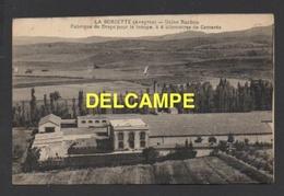 DF / 12 AVEYRON / LA BORIETTE / USINE RACHOU / FABRIQUE DE DRAPS POUR LA TROUPE ( À 4 KM DE CAMARES ) / CIRCULÉE EN 1948 - Other Municipalities