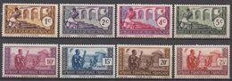 AFRIQUE  EQUATORIALE  FRANCAISE  N°33/40A__NEUF* VOIR  SCAN - A.E.F. (1936-1958)