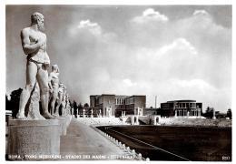 [DC11069] CPA - ROMA - FORO MUSSOLINI - STADIO DEI MARMI - DETTAGLIO - NV - Old Postcard - Stades & Structures Sportives