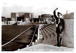 [DC11070] CPA - ROMA - FORO MUSSOLINI - STADIO DEI MARMI - DETTAGLIO - NV - Old Postcard - Estadios E Instalaciones Deportivas