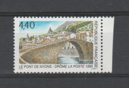 FRANCE / 1995 / Y&T N° 2956 ** : Pont De Nyons - Gomme D'origine Intacte - France