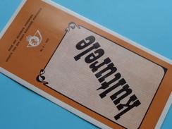 KULTURELE ( Nr. 4 ) / Afstempeling BRUSSEL 21-3-1977 ( Folder ) ! - Belgique
