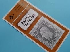 Journée Du Timbre ( Nr. 4 ) / Afstempeling BRUSSEL 15-4-1978 ( Folder ) ! - Belgique