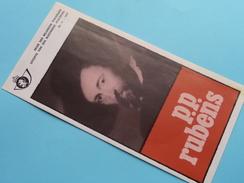 P.P. RUBENS ( Nr.11 ) / Afstempeling BRUSSEL 25-6-1977 ( Folder ) ! - Autres