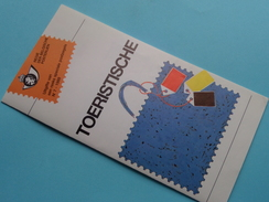 TOERISTISCHE ( Nr.7 ) / Afstempeling LOKEREN 25-6-1989 ( Folder ) ! - Belgique