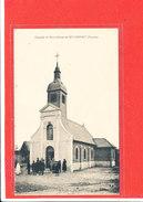 80 MOYENPONT Cpa Animée Chapelle Notre Dame         Edit Souillard - France