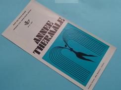 Année THERMALE ( Nr.14 ) / Afstempeling Liège 17-9-1973 ( Folder ) ! - Belgique