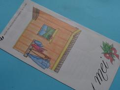 1 MEI ( Nr. 8 ) / Afstempeling ANTWERPEN 28-4-1990 ( Folder ) ! - Belgique