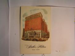New York City - The Statler Hilton - Cafés, Hôtels & Restaurants