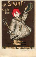 PUBLICITE VETEMENT(PARIS) - Werbepostkarten