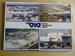 AIRPORT / FLUGHAFEN / AEROPORT     WIEN SCHWECHAT - Aerodromes