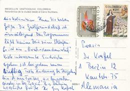 COLOMBIA - AK Medellin Nach Berlin - Colombia