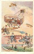 B-17.760 : BEBES MULTIPLES. BAIGNEURS EN CELLULOÏDE? PETIT COLIN ?  AVIATION - Jeux Et Jouets