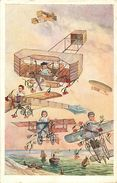 B-17.760 : BEBES MULTIPLES. BAIGNEURS EN CELLULOÏDE? PETIT COLIN ?  AVIATION - Juegos Y Juguetes