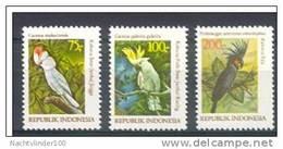 Mgm1096 VOGELS BIRDS PAPEGAAI PARROT VÖGEL AVES OISEAUX INDONESIA 1981 PF/MNH - Papageien