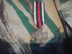 Medaille Allemande 'croix D Hindenbourg - 1914-18