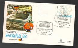 Espana Spagna Mundial Futbol Madrid 1982 Germania > Inghilterra FDC Football Soccer Calcio - FDC