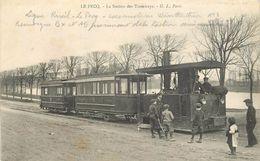 LE PECQ - La Station Des Tramways. - Tramways