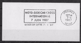 Motos - Side-Car - Flamme Secap SPECIMEN - TB - Motos